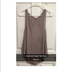 American Eagle Open-Back Tank Top